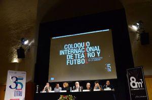 Mesa Redonda Coloquio Internacional de Teatro y futbol