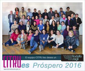 El equipo CITRU les desea un próspero 2016