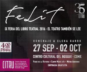 IX FERIA DEL LIBRO TEATRAL 2016