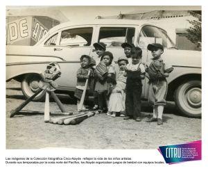 Las imágenes de la Colección fotográfica Circo Atayde