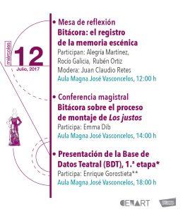 Mesa de reflexión | Conferencia magistral | Presentación de la