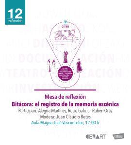 Bitácora: el registro de la memoria escénica