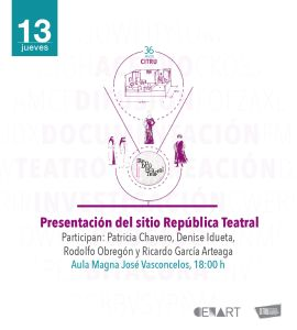 Presentación del sitio República Teatral